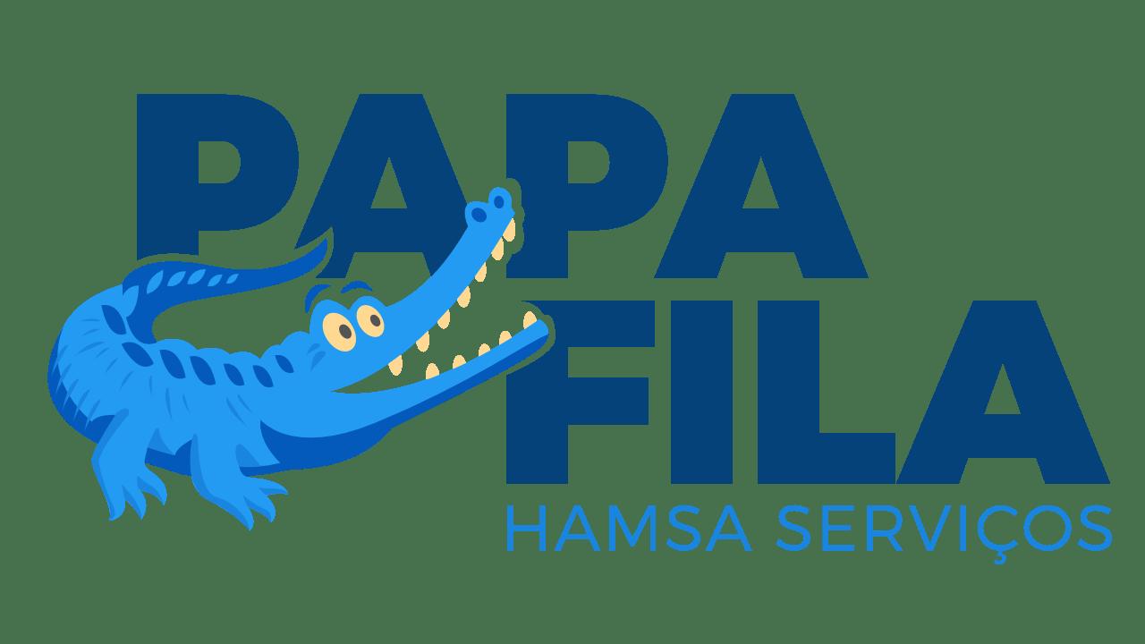 Criação de mascote Papa Filas